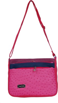 Kshipra Fashion Girls, Women Purple, Pink, Blue Leatherette Sling Bag