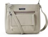 Falah Bag Works Women Beige PU Sling Bag