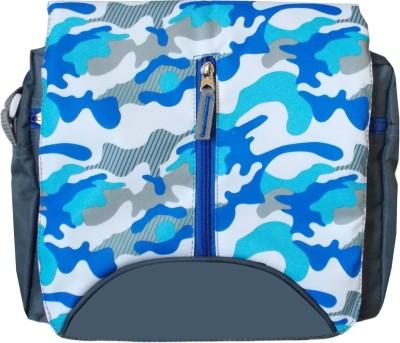 Majesty Boys Blue Polyester Sling Bag
