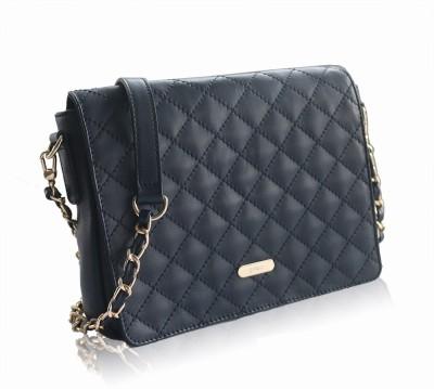 Gripp Girls, Women Blue Genuine Leather Sling Bag