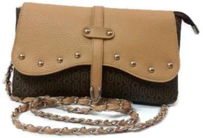 Trend Overseas Women Brown PU Sling Bag
