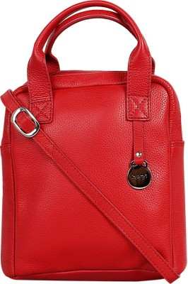 Hunt Women Red Genuine Leather Sling Bag