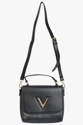 VIVO Women, Girls Casual Black PU Sling Bag