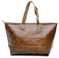 TWINOLOGY Women Brown Genuine Leather Hand-held Bag