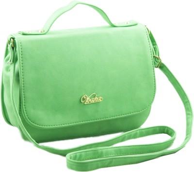 Voaka Women, Girls Green PU Sling Bag