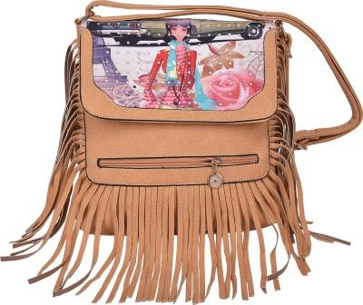 Aquila Women Multicolor PU Sling Bag