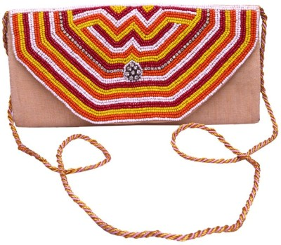 Nonch Le Women, Girls Red, Multicolor Canvas Sling Bag