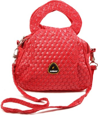 Chalissa Women, Girls Red Rexine Sling Bag