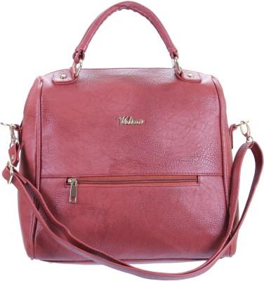 velina Women Maroon PU Sling Bag