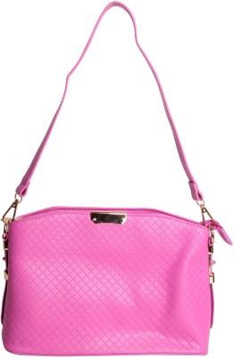 Reedra Women Pink PU Sling Bag