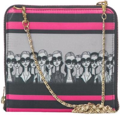 Bandbox Women Casual Multicolor Polyester Sling Bag