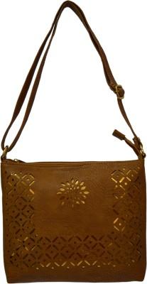 Minar Women, Girls Brown PU Sling Bag