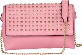 FabSeasons Women Pink PU Sling Bag