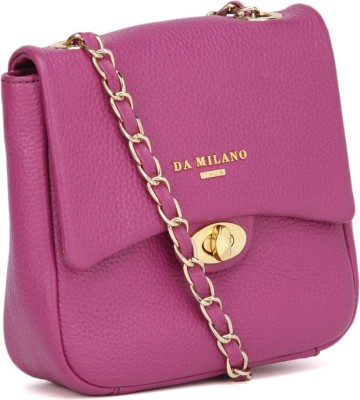 Da Milano Women Purple Sling Bag