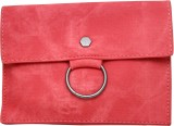 Shopping Feast Women Red PU Clutch