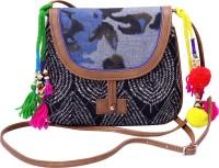 Jaipurse Women Multicolor Cotton Sling Bag