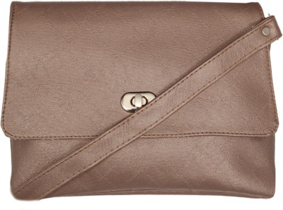 Borse Women Grey PU Sling Bag