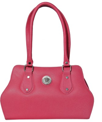 Heels And Toes Women Red Leatherette Shoulder Bag