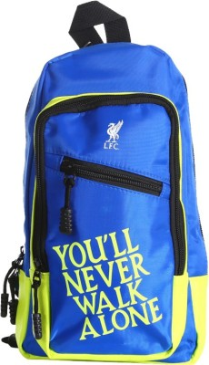 Liverpool FC Men, Women Blue Polyester Sling Bag