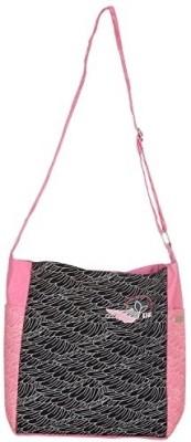 Kohl Women Casual Black Canvas Sling Bag