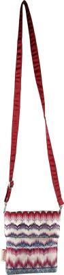 Nostaljia Girls Multicolor Polyester Sling Bag