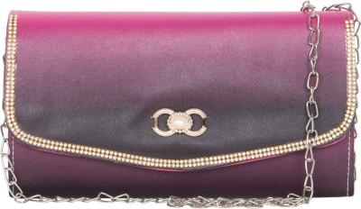 MTE Girls Purple Leatherette Sling Bag