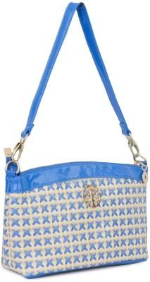 Penguin Women Evening/Party Blue PU Sling Bag