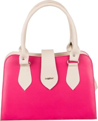 Lady World Girls, Women Pink, Beige PU Hand-held Bag