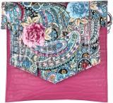 Dice Women Casual Pink PU Sling Bag