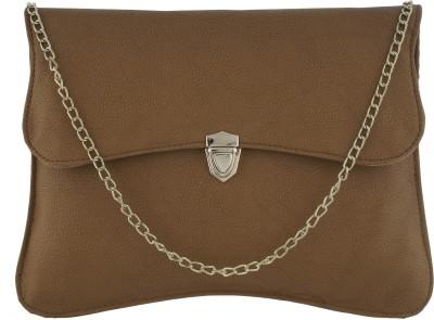 Fantosy Women Casual Tan PU Sling Bag