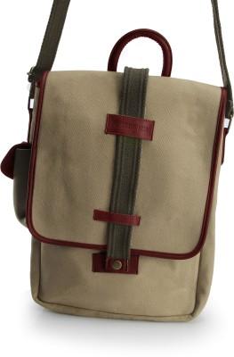 HardWire Boys, Girls, Men, Women Beige Canvas Sling Bag