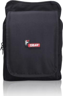 F Gear Men, Women Casual Black Polyester Sling Bag