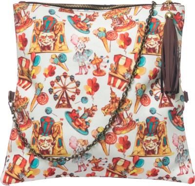 Bandbox Women Casual Multicolor Canvas Sling Bag