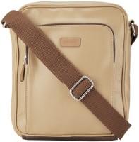 Park Avenue Men Beige Genuine Leather Shoulder Bag