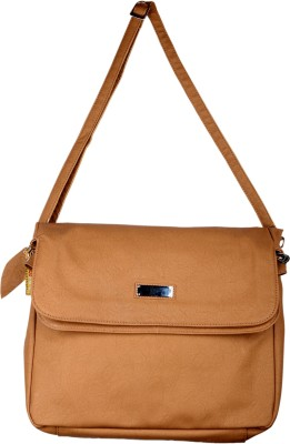 Spice Art Girls Casual Tan Leatherette Sling Bag