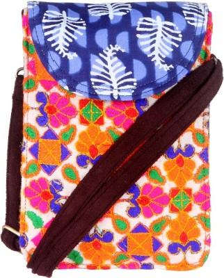 Stylocus Women Multicolor Cotton Sling Bag