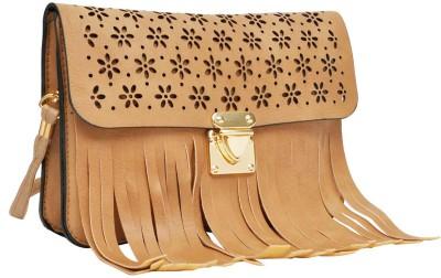 Hawai Women Brown PU Sling Bag