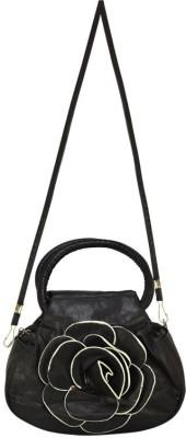Bueva Women, Girls Black Leatherette Sling Bag