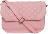 Peacock Women Pink PU Sling Bag