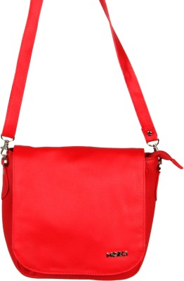 Merci Women Red PU Sling Bag