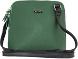 Lavie Women Green PU Sling Bag