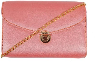 Borse Women Pink PU Sling Bag