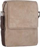 Alessia Women Casual Beige PU Sling Bag