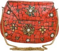 Sojanya Women Multicolor Metal Sling Bag