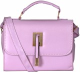 Kalon Women Purple PU Sling Bag
