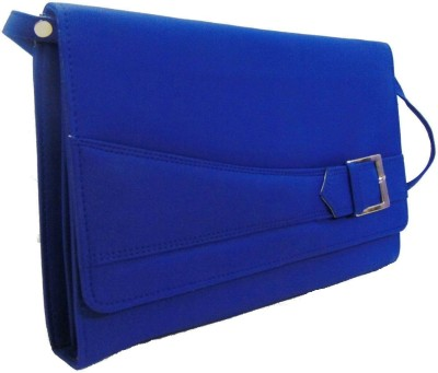 Estoss Women Casual Blue PU Sling Bag