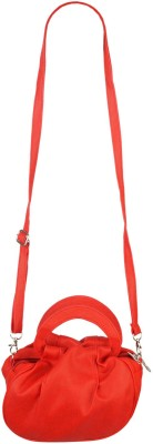 Fristo Women Red PU Sling Bag