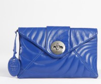 J.B.Bali New York Girls, Women Blue Genuine Leather Sling Bag