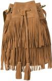 Romari Women Tan Genuine Leather Sling B...
