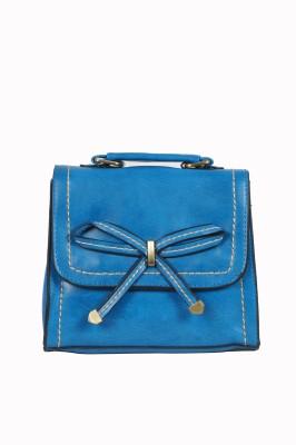 Urban Stitch Girls, Women Blue Leatherette Sling Bag